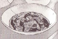 ナスとトマトと豚肉のピリ辛中華風煮込み図