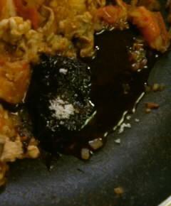 ナスとトマトと豚肉のピリ辛中華風煮込み7