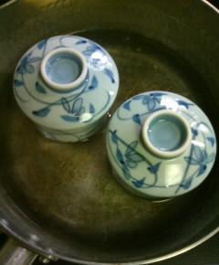 牡蠣出汁の洋風茶碗蒸し11
