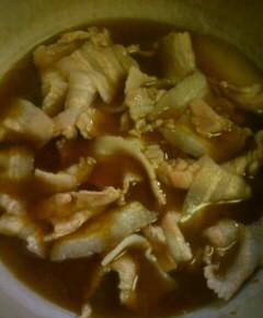 我流豚丼8