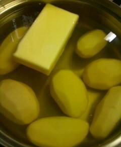ジャガイモのバター煮4