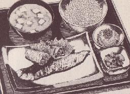 鮭づくし定食図
