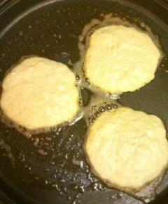 リコッタチーズとリンゴのパンケーキ16