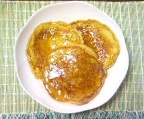 リコッタチーズとリンゴのパンケーキ18