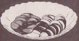 味噌漬け野菜図