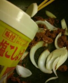 コンビーフ丼6