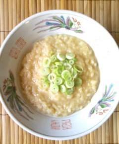 ラーメンスープのリゾット風6