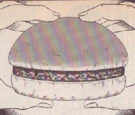 ベトナム風ハンバーガー図