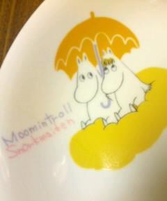 ムーミン皿2
