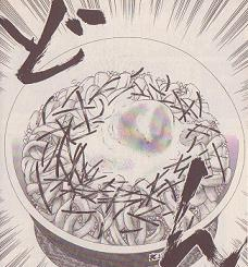 イカす月見丼図