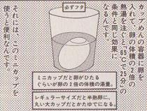 温泉卵の理論