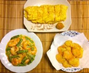 ボイルエビ料理三種20