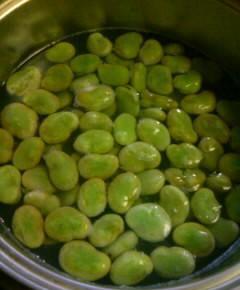 空豆のスープ1