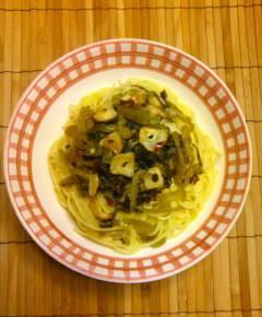 高菜スパゲティ11