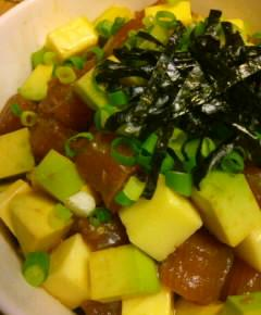 カツオ・アボカド丼11
