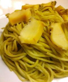 アワビのスパゲティ31