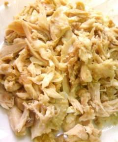 鶏ガラコロッケと親子カレー9