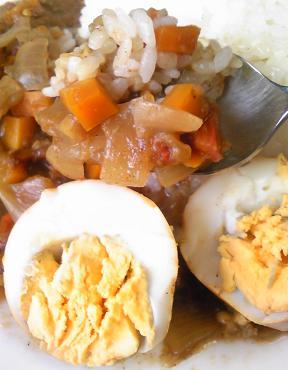 鶏ガラコロッケと親子カレー37