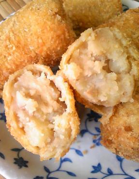鶏ガラコロッケと親子カレー36