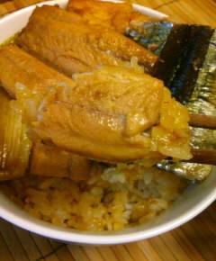 サンマの蒲焼き丼15