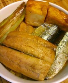 サンマの蒲焼き丼14