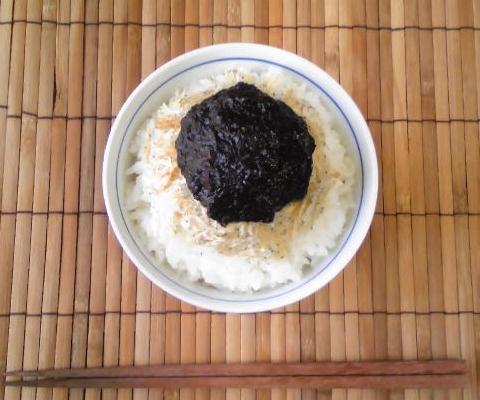 たたみ鰯と海苔の佃煮ご飯9