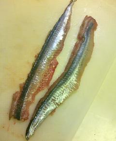 秋刀魚チャーハン3