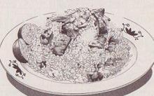 秋刀魚チャーハン図
