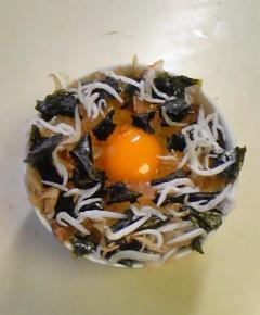 卵ご飯三種7