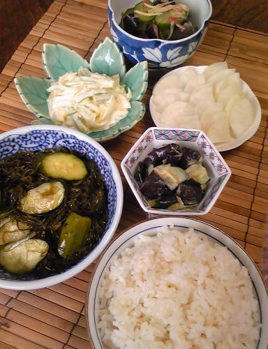 飯蔵流簡単漬物五種の朝食28