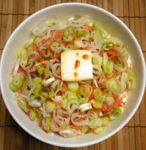 ハナさん流明太子丼12