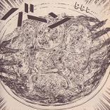 アスパラグラタン図