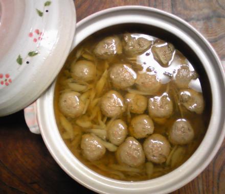 ユミちゃん自慢のつみれ鍋12