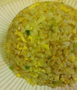 春節・牡蠣の餡かけチャーハン8
