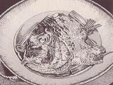 鯛の南蛮仕立て図