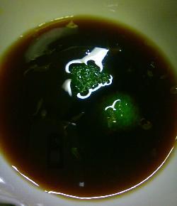 フグと水菜のパリ鍋14