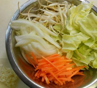 あんかけ炒め蒸し野菜1