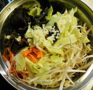 あんかけ炒め蒸し野菜7