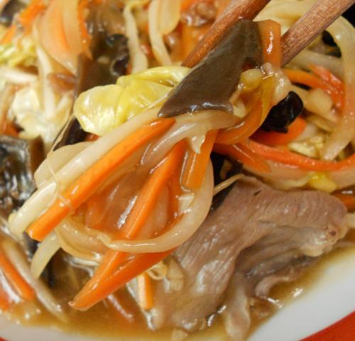 あんかけ炒め蒸し野菜12