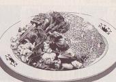 菜の花のお別れチャーハン図