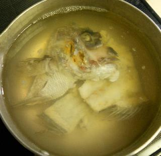 鯛とゴマ汁の冷やし茶漬け4