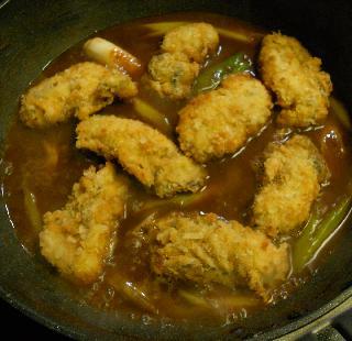 特製味噌風味カキフライ丼9