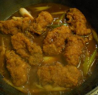 特製味噌風味カキフライ丼10