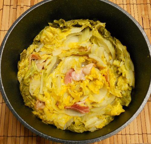 ハナさん流白菜ベーコン鍋9
