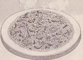 山岡さん大好物の鮭チャーハン図