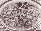 おチヨさんの豚肉団子鍋図