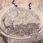 菜の花いっぱいのポカポカ鍋図