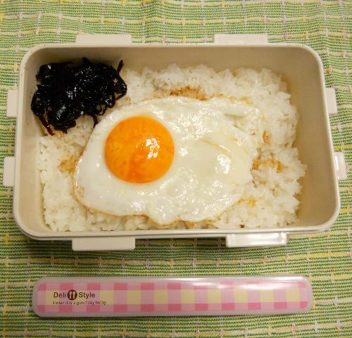 原田君の目玉焼き弁当1