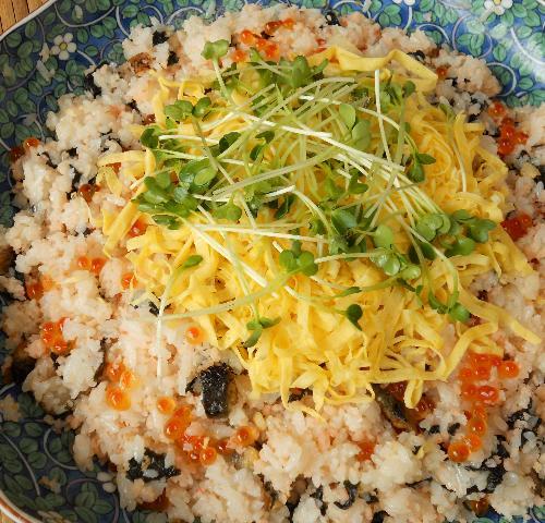 エビちらし寿司12