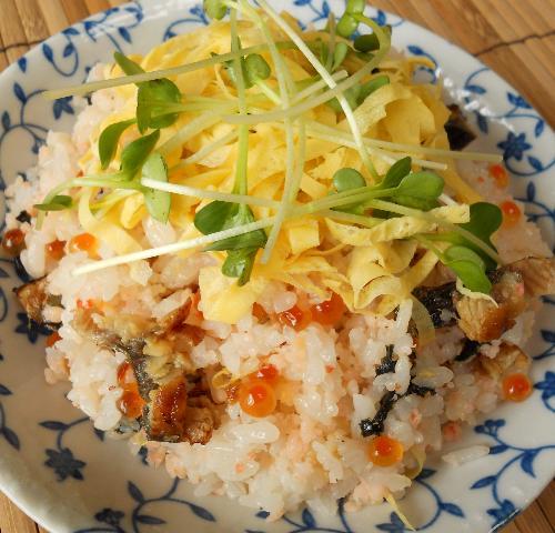 エビちらし寿司13